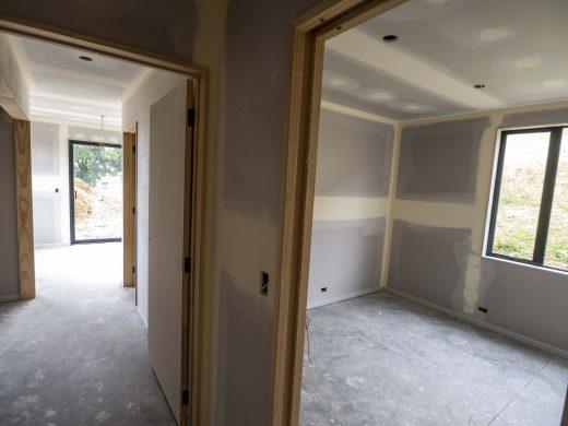 Pre paint - Hallway/bedrooms