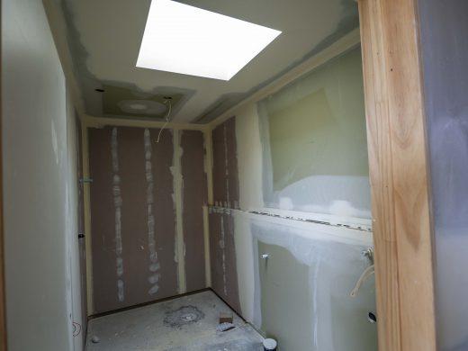 Pre paint - bathroom