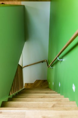 Stairwell Natural Paint 'Groovey'