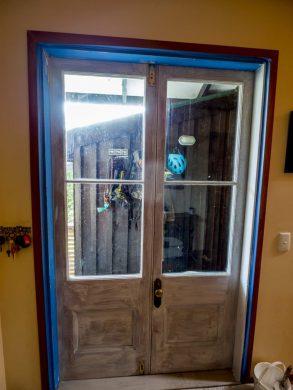 Preparation door
