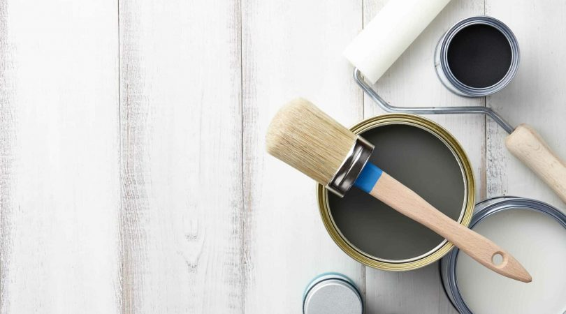 Pure Eco Painting Nelson Christchurch   Articles   Breathe In Quality   Paint pot & Brush