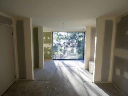 Master bedroom pre spraying